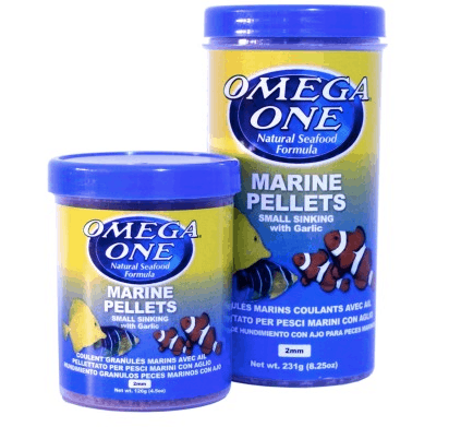marine pellets fish food