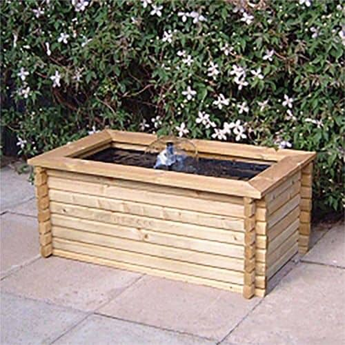 WOODEN RAISED POND