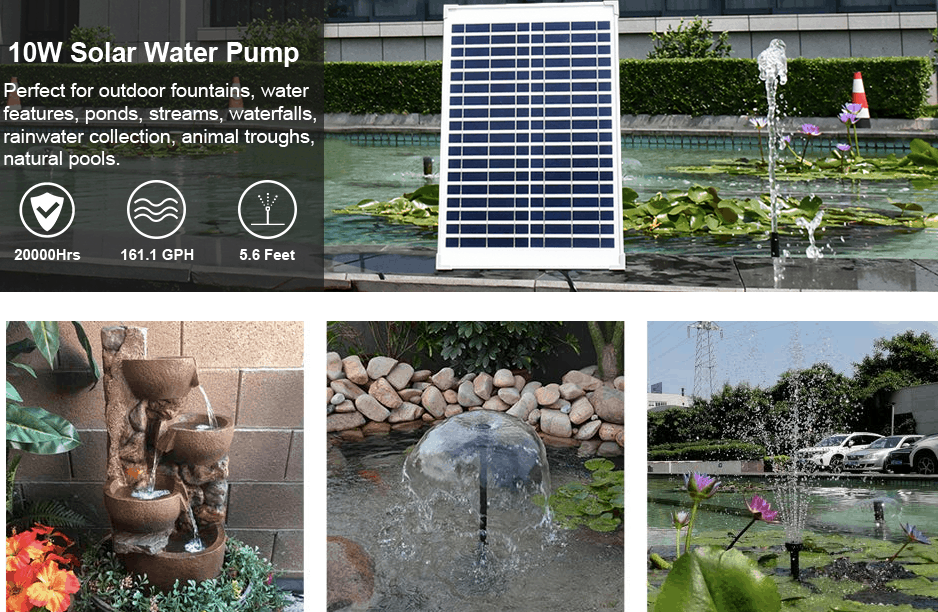 Best Solar Powered Pond Pump | Easy To Install And No Bills 9