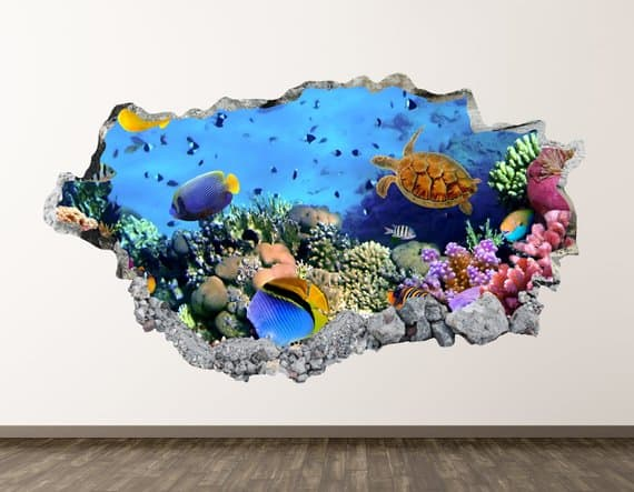 aquarium wall art